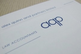 Alex Quinn & Partners - Business Stationery