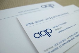 Alex Quinn & Partners - Business Cards
