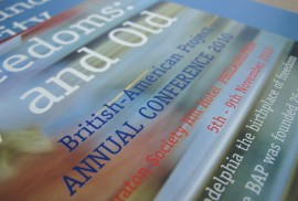 British American Project - Annual Conference Brochures