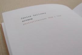 "Shelagh Atkinson - ""Face It"" artists book"