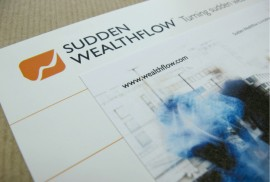 Wealthflow LLP- Branded Promotional Fliers
